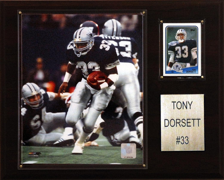 NFL Tony Dorsett Dallas Cowboys Player Plaque
