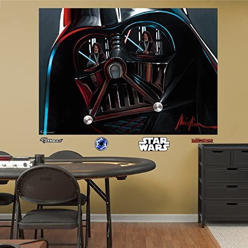 Fathead Wall Decal, Vader Illustration Mural
