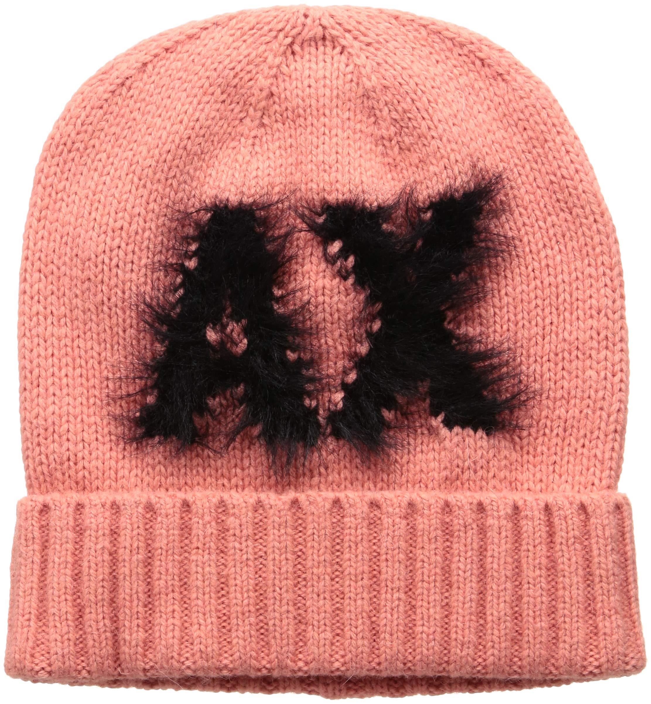 A|X Armani Exchange Women's Fuzzy AX Beanie, caipiroska, TU