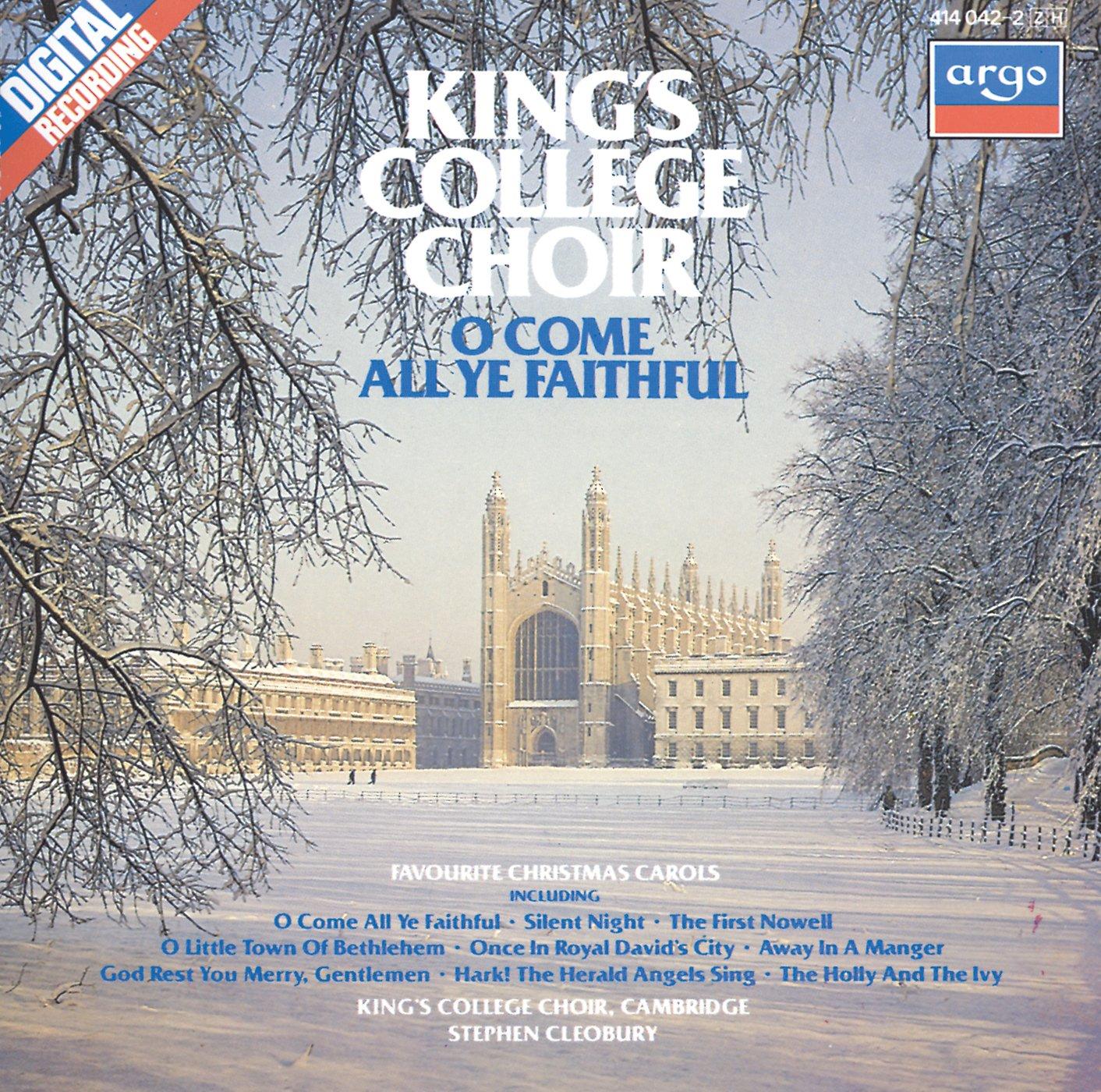 Stephen Cleobury, King\'s College Choir Cambridge - O Come All Ye ...