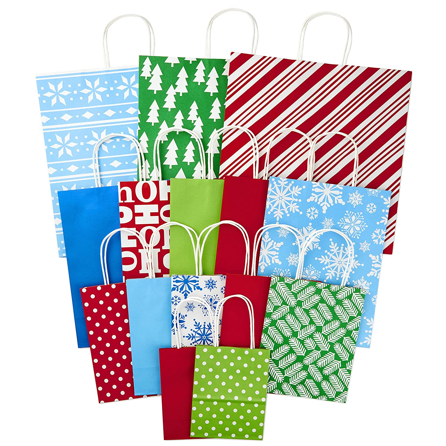 Amazon.com Hallmark Holiday Gift Bag Assortment Traditional (Pack of 15 Extra Large Large Medium Small) Health u0026 Personal Care  sc 1 st  Amazon.com & Amazon.com: Hallmark Holiday Gift Bag Assortment Traditional (Pack ...