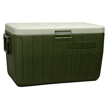 Coleman Performance Portable Cooler, 48 Quart, Green - 3000000021