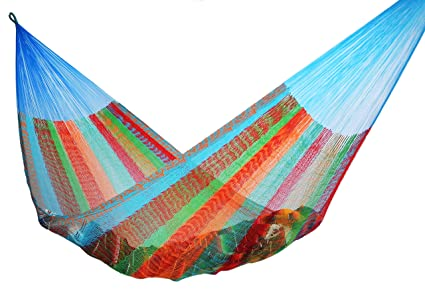 mayan hammock double size multicolor amazon     mayan hammock double size multicolor   garden  u0026 outdoor  rh   amazon