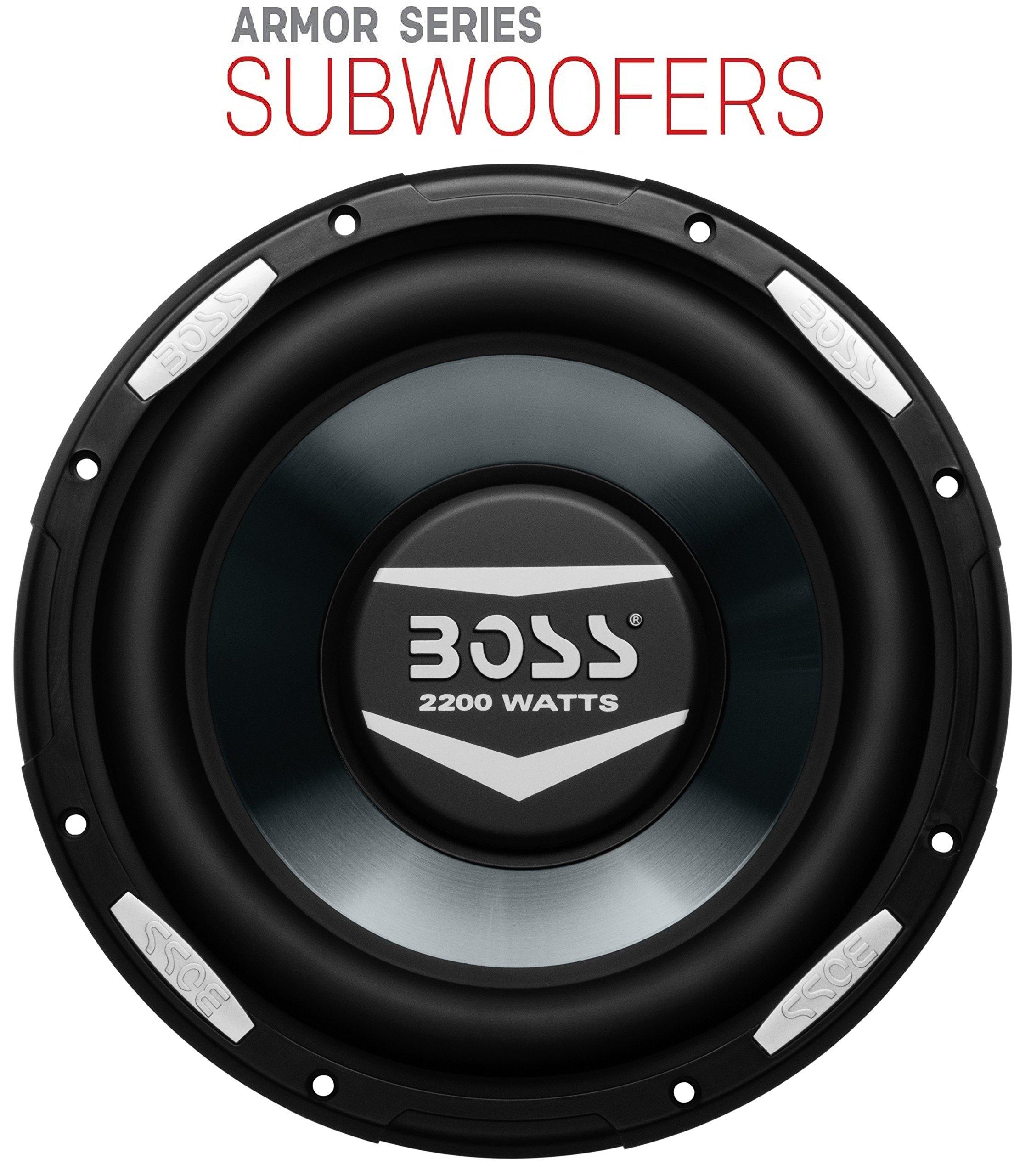 BOSS Audio AR10D 2000 Watt, 10 Inch, Dual 4 Ohm Voice Coil Car Subwoofer by BOSS Audio (Image #1)