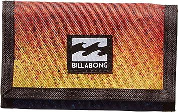 BILLABONG Atom Wallet Monedero, Hombre, Naranja, 10 x 2 x 12 cm (W x H x L)