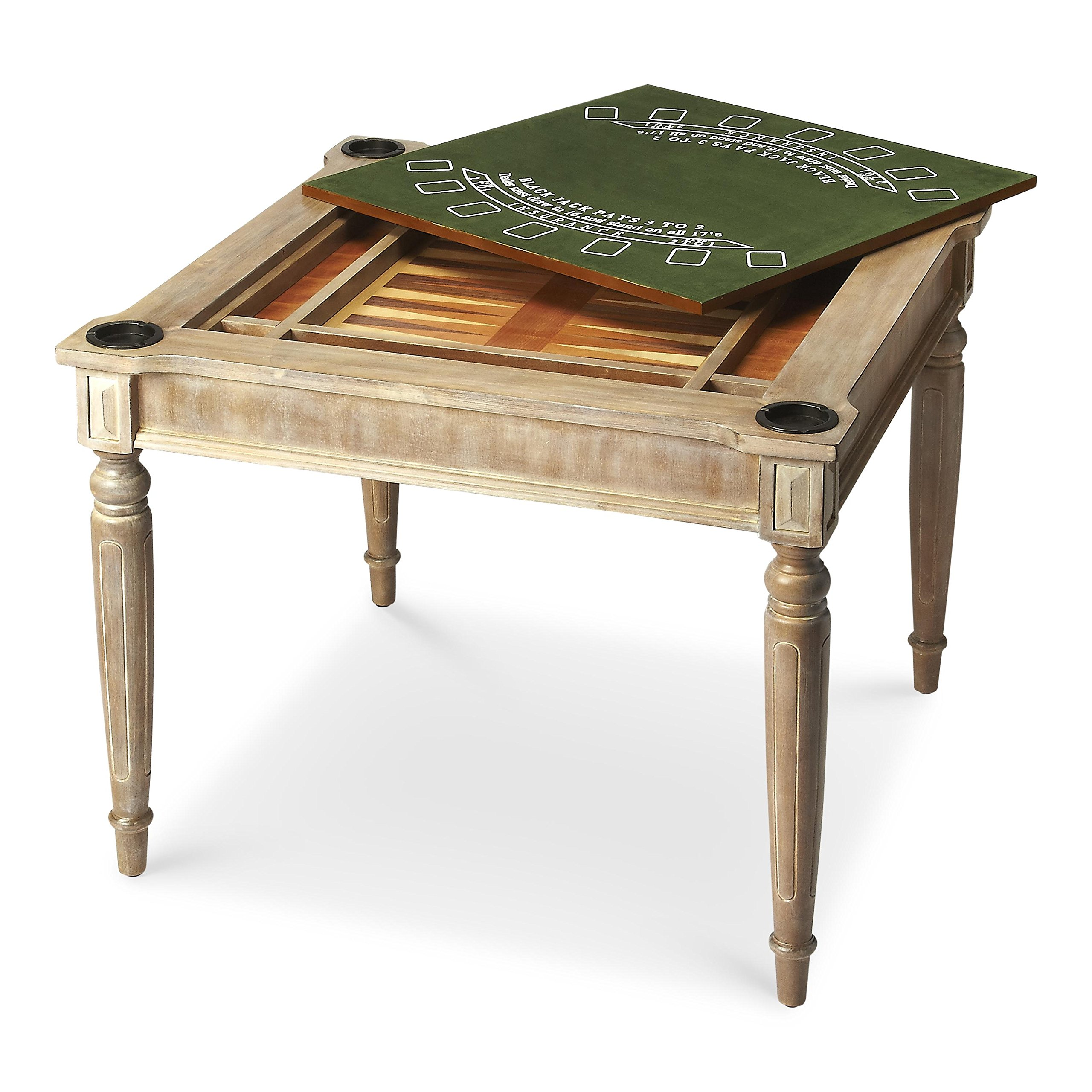 BUTLER VINCENT DRIFTWOOD MULTI-GAME CARD TABLE by Butler specality company