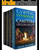 Camping Cookbook 4 in 1 Book Set  - Grilling Recipes (Vol. 1); Foil Packet Recipes (Vol. 2); Dutch Oven Recipes (Vol. 3) and: Camping Cookbook: Fun, Quick & Easy Campfire and Grilling Recipes (Vol 4)