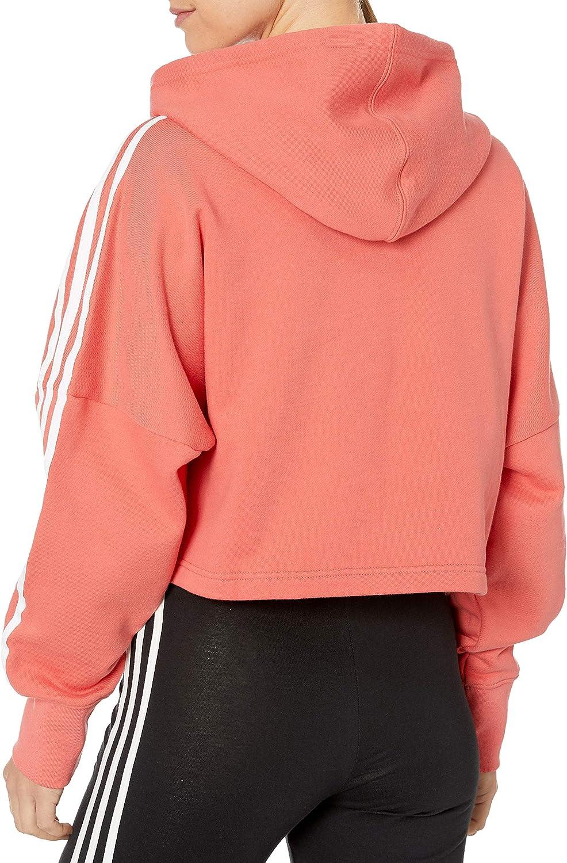 adidas Originals Womens Cropped Hoodie Sweatshirt