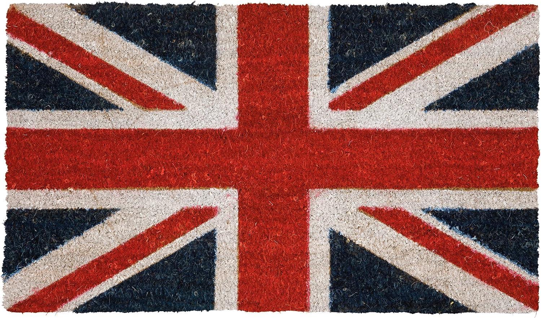 Dandy William - Felpudo (70 x 40 cm), diseño de la Bandera británica: Amazon.es: Hogar