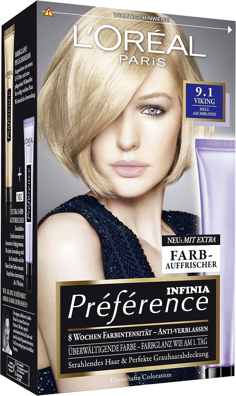 L Oréal Paris Préférence - Tinte (3 unidades): Amazon.es ...