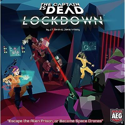 alderac Entretenimiento ald07018 The Captain IS Dead: Lockdown: Juguetes y juegos