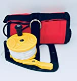 SMB/DSMB 120x15cm with 45m,150ft Yellow Ratchet Reel