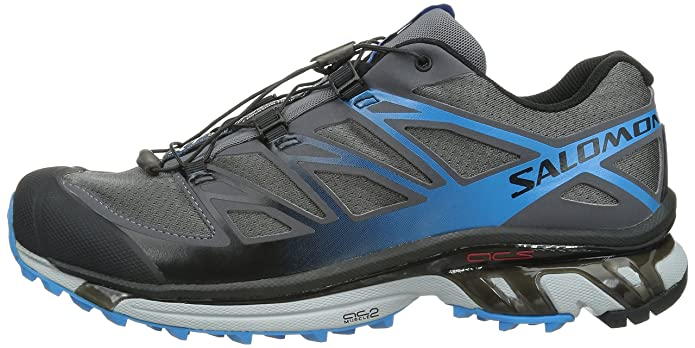 cheap for discount 29199 bbedc Salomon Men s XT Wings 3 Trail Running Shoe, Dark Cloud Light Onix Methyl  Blue, 8 M US  Buy Online at Low Prices in India - Amazon.in