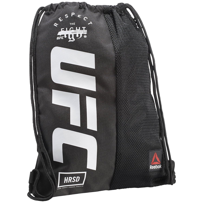 Reebok UFC Gymsack Sporttasche, 25 cm, Schwarz (Negro) CZ9903