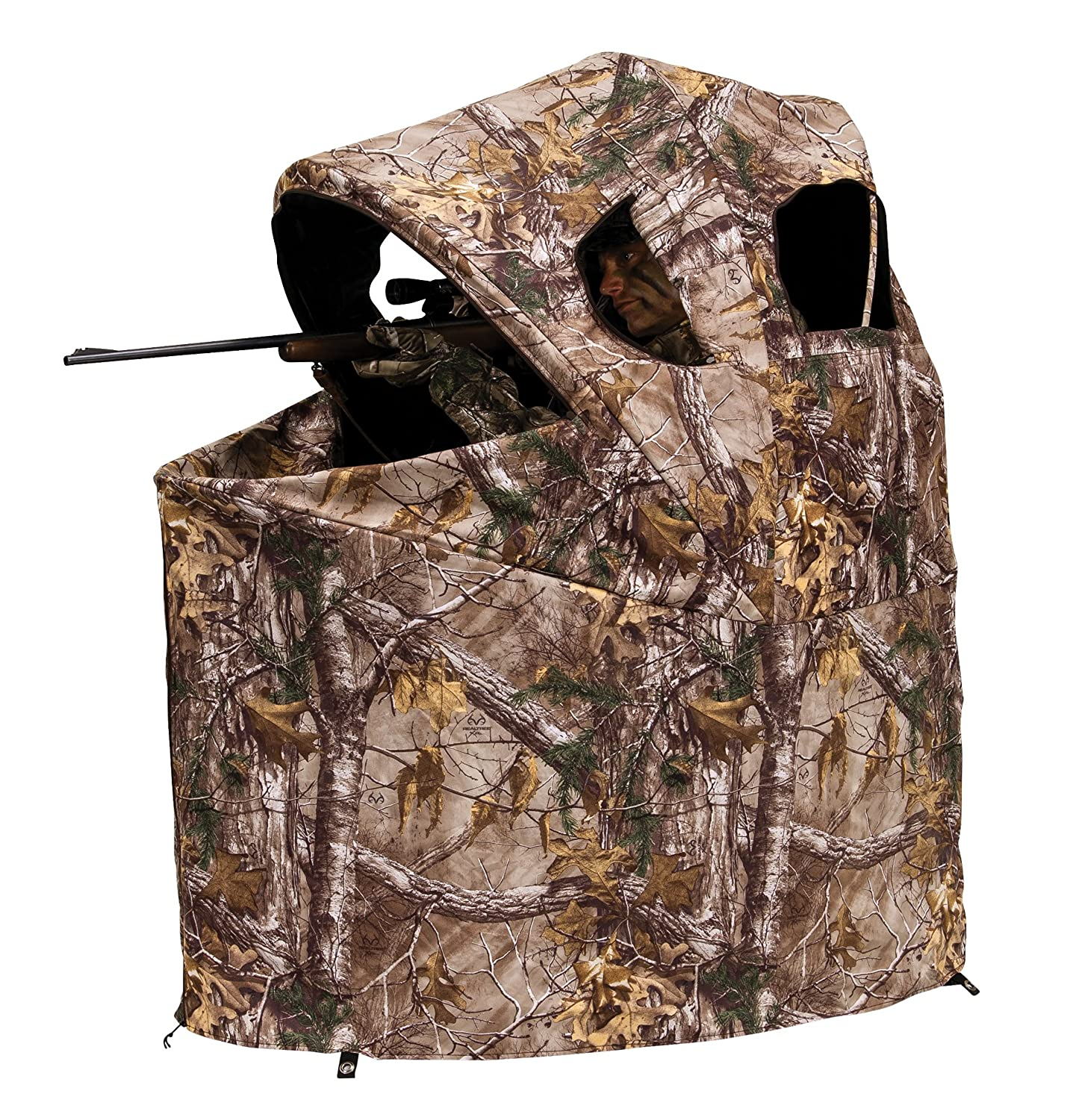 summit person blind business and treestands blinds for archery o hunting fall new
