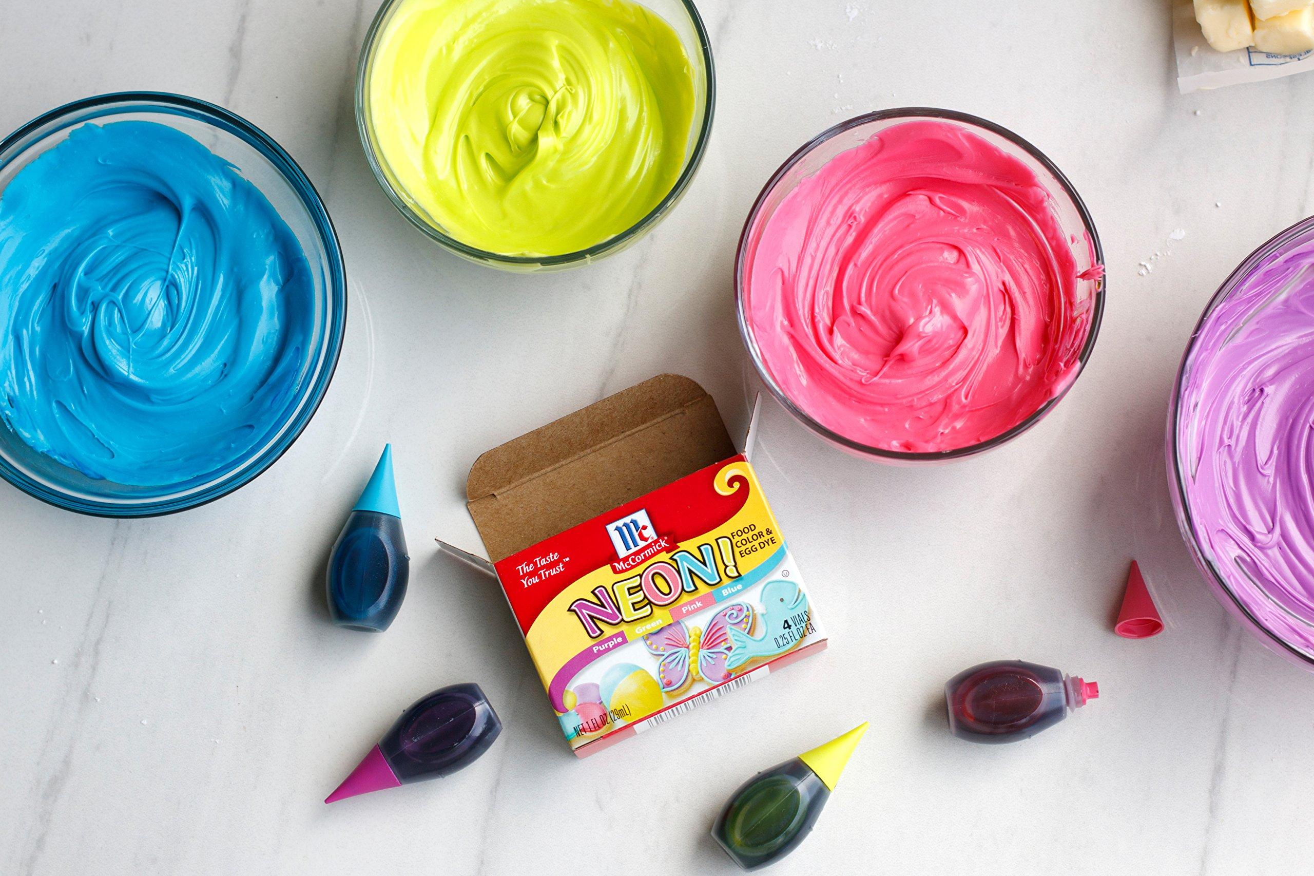 McCormick Neon Assorted Food Color, 1 fl oz < Food Coloring ...
