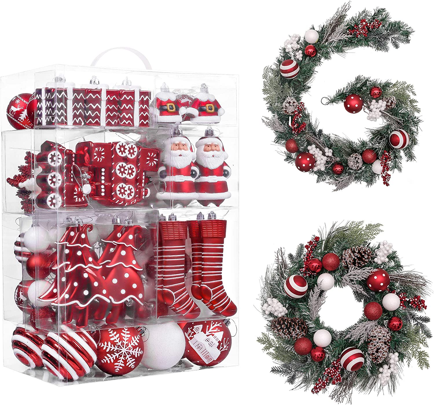 Wreaths, Garlands, Ornament Bundles by Valery Madelyn