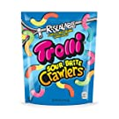 Trolli Sour Brite Crawlers Gummy Candy, Assorted Flavors, 28.8 Ounces