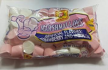 compra original fabricación hábil claro y distintivo Marshmallows De La Rosa Bombon De La Rosa Giant Size 14.05 Oz Ounce Bag 2  Pack