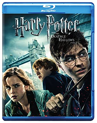 amazon com harry potter and the deathly hallows part 1 blu ray