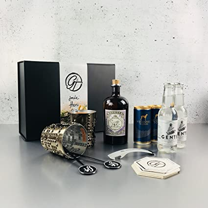 Monkey 47 negro bosque Dry Gin & Tonic Set de regalo: Amazon.es ...