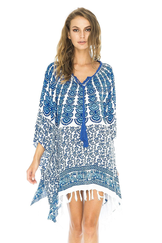 Back From Bali Frauen Strandkleider mit coolen Designs