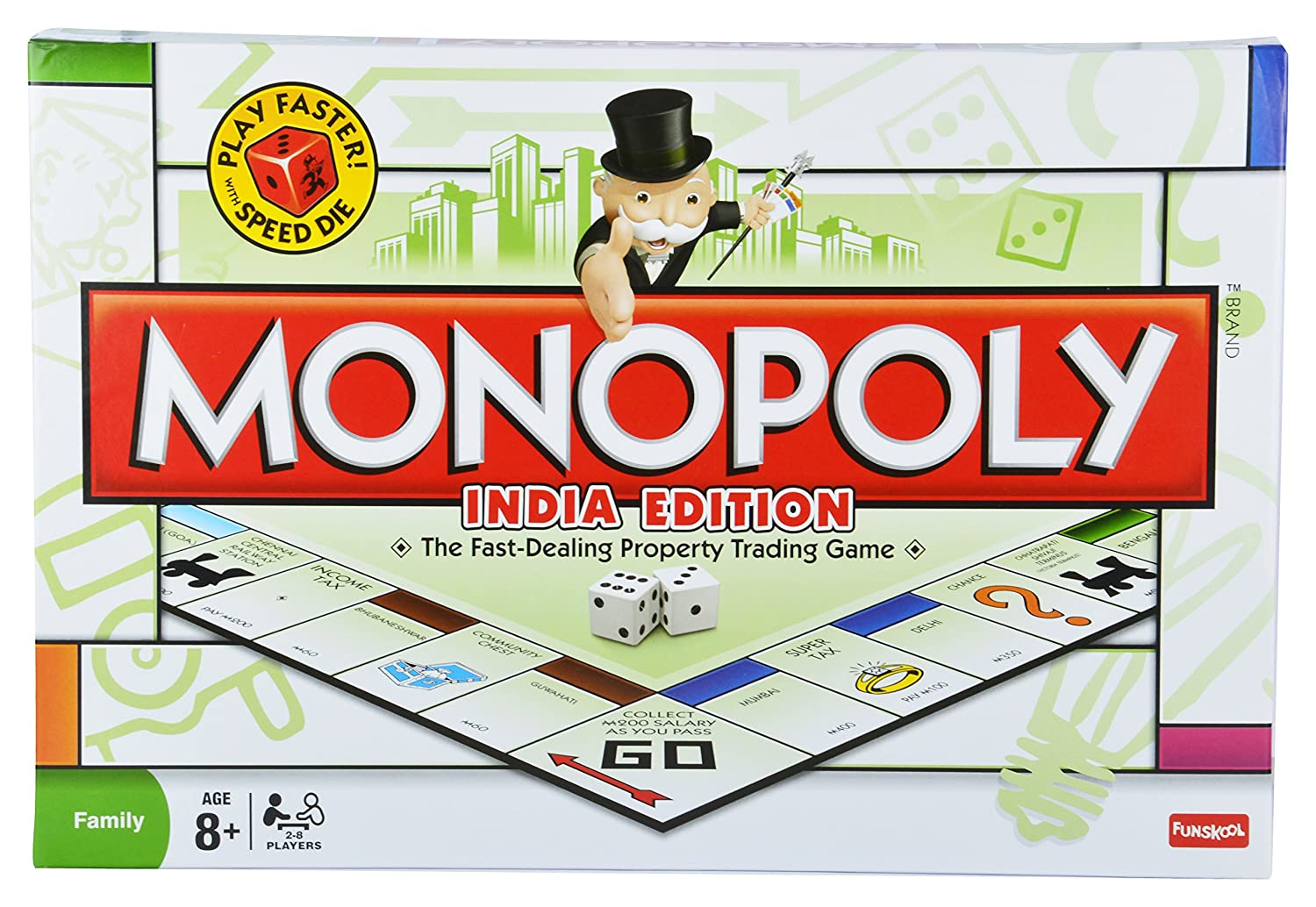 9e0cbff818b Buy Funskool Games Monopoly India Edition Family Online at Low Prices in  India - Amazon.in