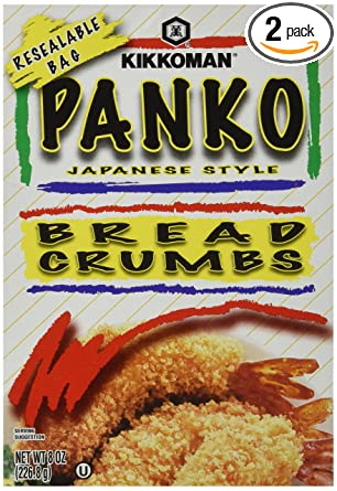 Kikkoman Panko migas de pan estilo japonés 8oz (Pack de 2 ...