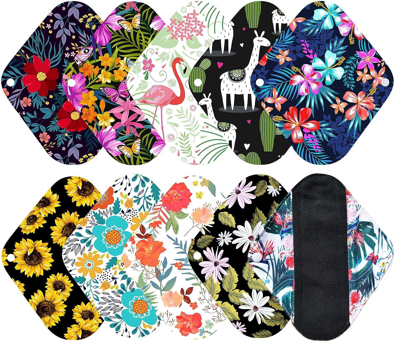 Reusable Pantyliner  Reusable Menstrual Pads  Cloth Pantyliners  Mama Pad  Cloth Menstrual Pads  Reusable Cloth Pads  Light Flow
