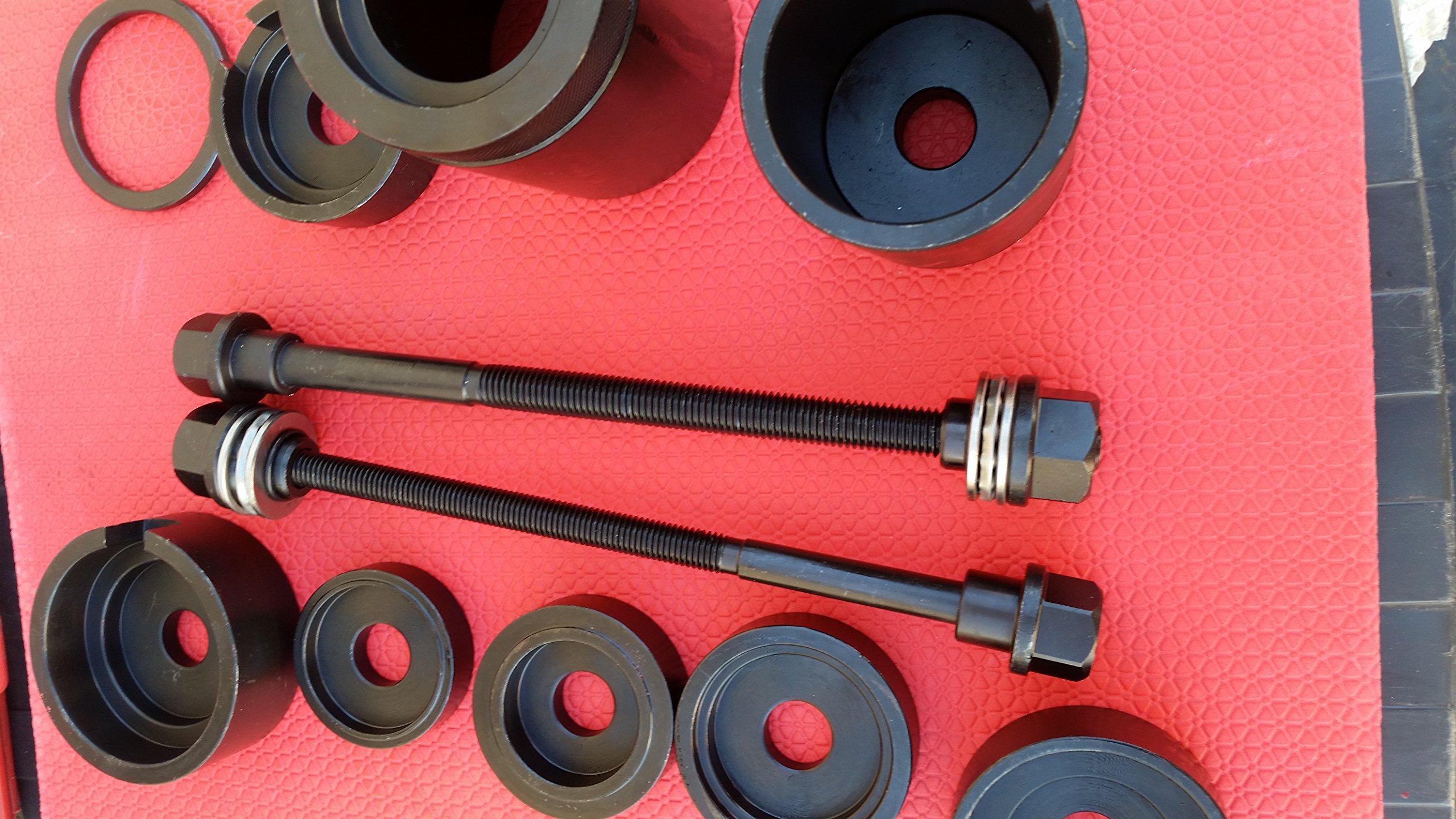 Screw Pivot Bush Installer & Remover for BMW E31, E32, E34, E38, E39,e53, E60,e65,e66