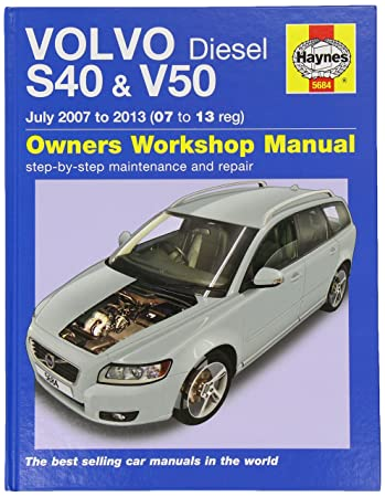 volvo s40 v50 diesel 07 13 haynes repair manual haynes car rh amazon co uk Volvo XC60 volvo v50 owner's manual