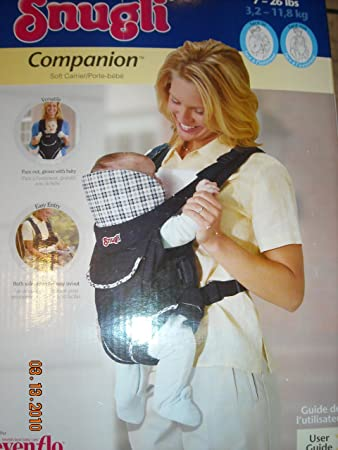 3b2ce15c959 Amazon.com   Snugli Companion Soft Baby Carrier   Child Carrier Front Packs    Baby