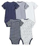 Moon and Back Baby Set of 5 Organic Short-Sleeve