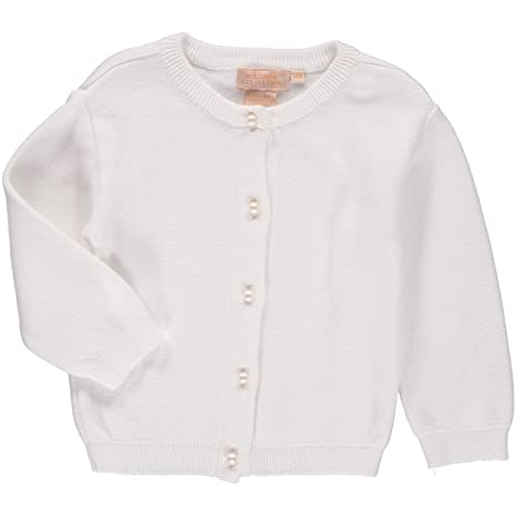 76c35c3c85ba Boutique Collection Baby Girl Soft Knit Cardigan - White Spring ...