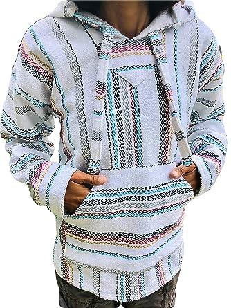 a9d41691cb Baja Hoodie XXXL Mexican Drug Rug Plus Size Pullover 3XL Sweatshit ~ Many  Colors ~ (
