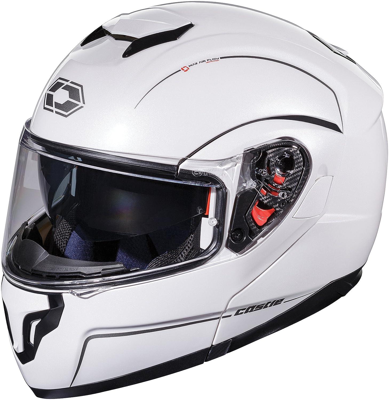 Castle X Atom SV Solid Color Modular Helmet LRG Titanium