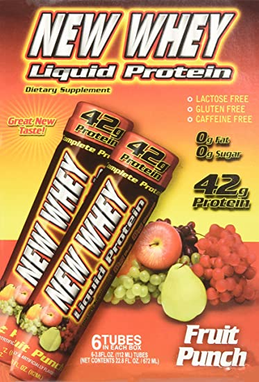 Image result for new whey liquid protein 42g 6 pack