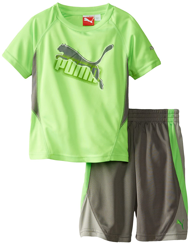 PUMA Little Boys' Maze Cat T-Shirt PBM44054