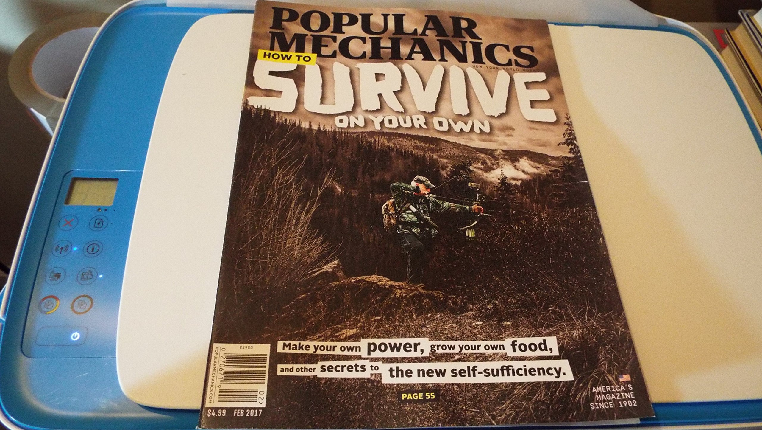 Popular Mechanics February 2017 How To Survive on Your Own ebook