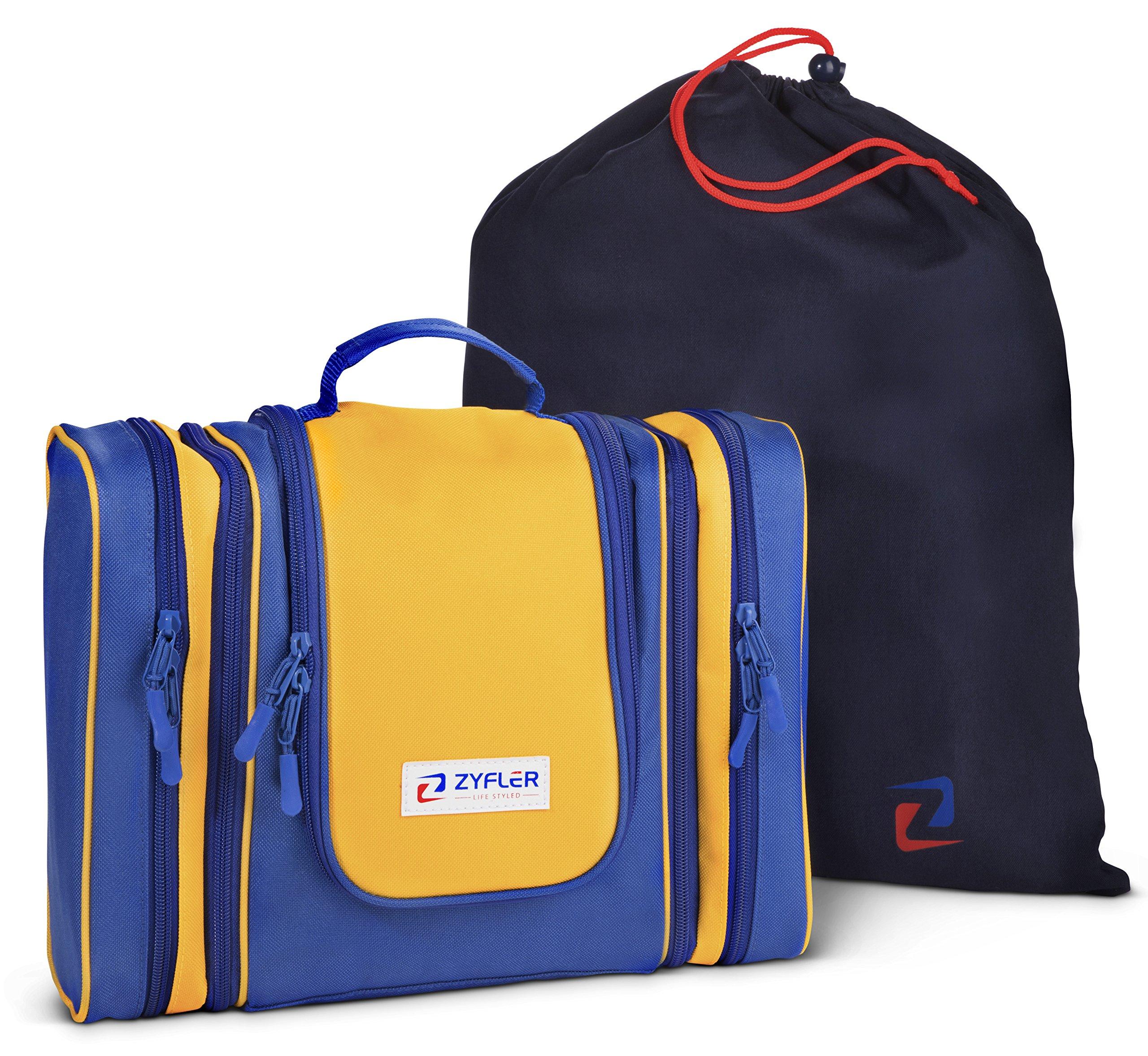 amazon com detachable hanging toiletry bag and organizer by rh amazon com