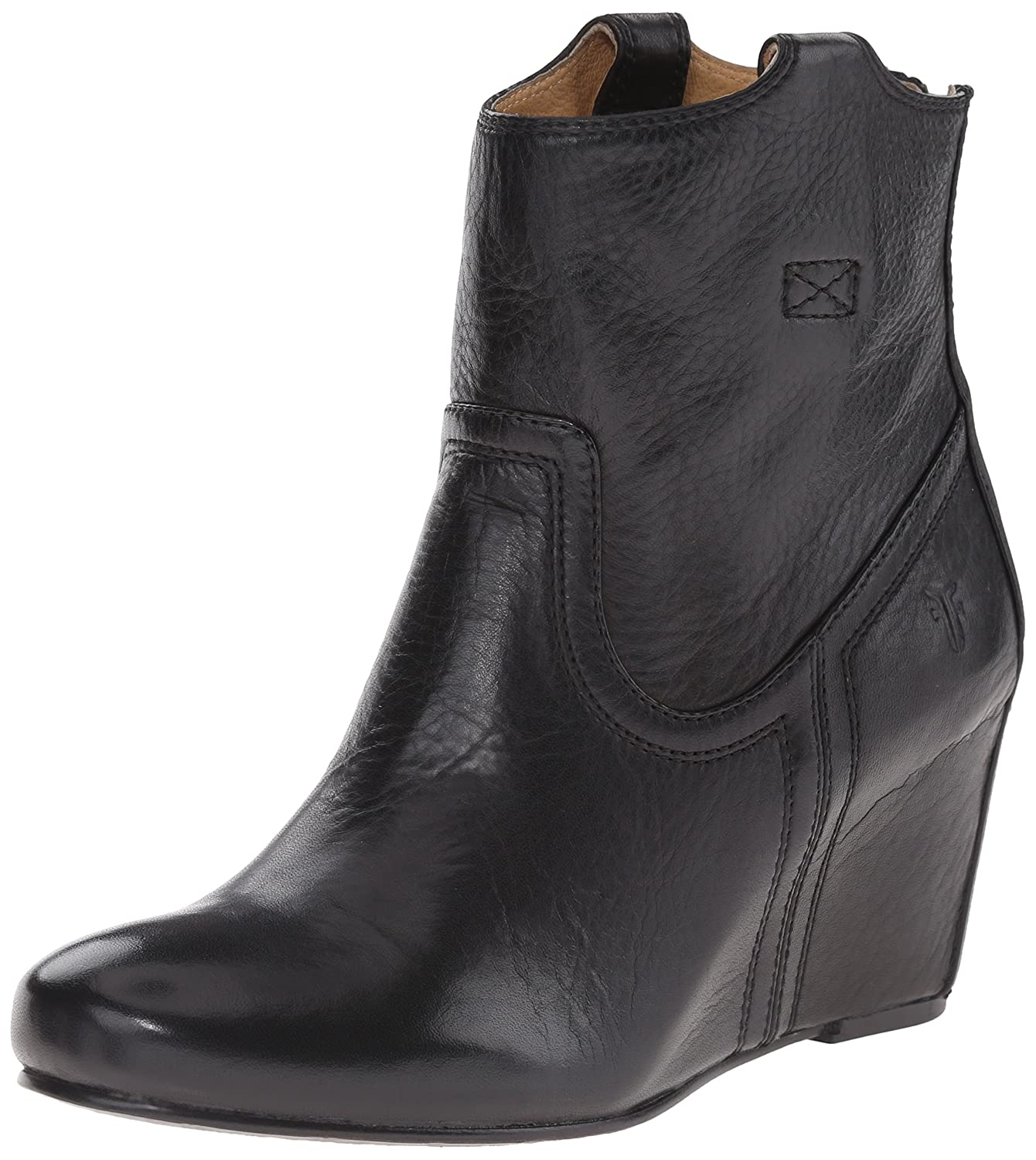 FRYE Women's Carson Wedge Bootie B00SSQITO2 8 B(M) US|Black
