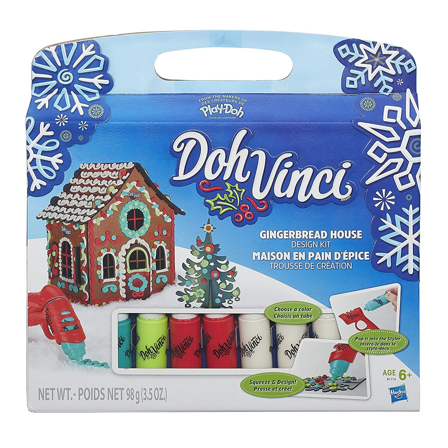 Amazon DohVinci Style Your Season Gingerbread House Design Kit