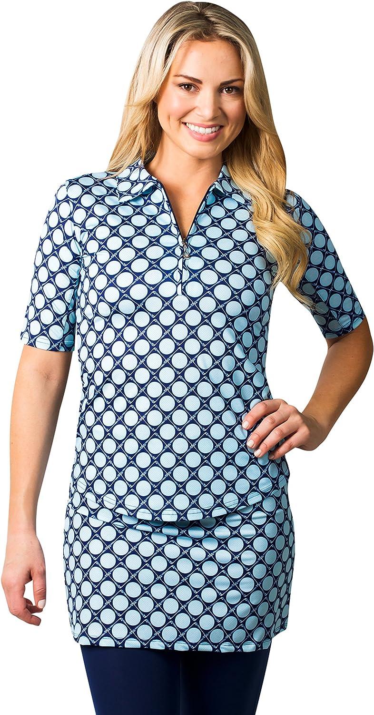 San Soleil Short Sleeved Elbow Length UV 50 Tech Shirt with Mesh-XL
