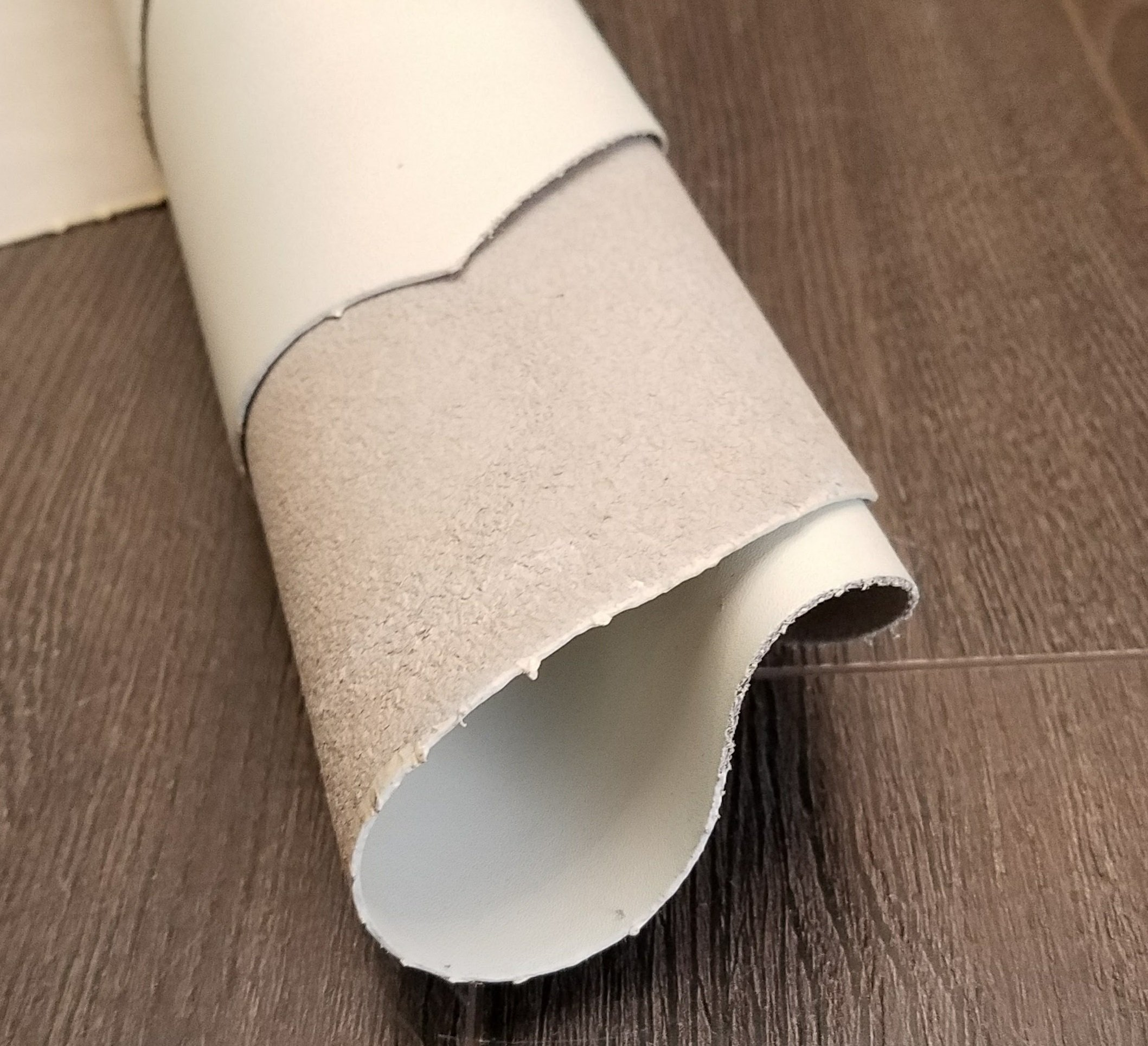 NAT Leathers White Offwhite Bone Smooth Nappa 3.0-3.5 oz 10-13 sq.ft. Footwear Shoe Handbag Craft Cowhide Genuine Cow Leather Hide Skin (10 sq.ft)