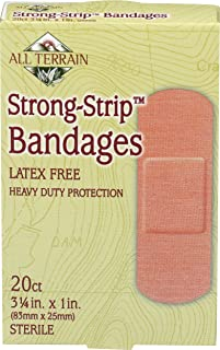product image for All Terrain Strong Strip Bandages Latex Free - 20 Bandages