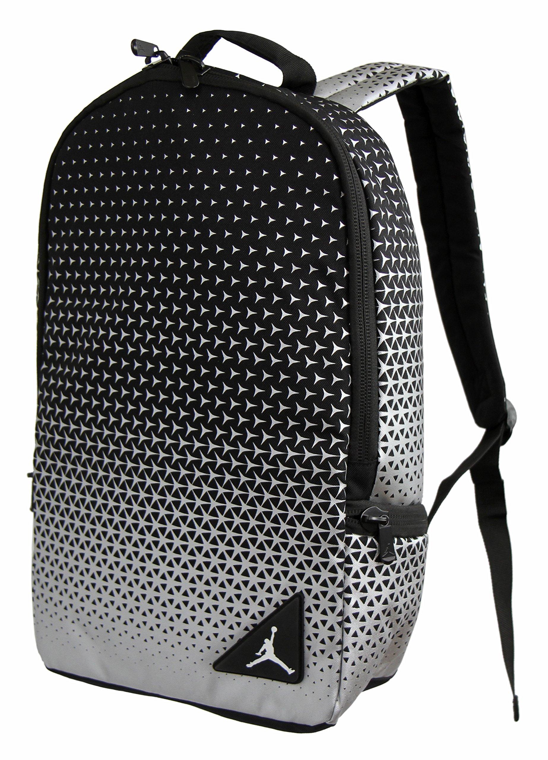 Nike Jordan Boys Backpack - Black, Silver