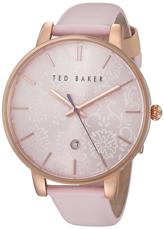 Ted Baker Damen Rose Gold Pink Armbanduhr