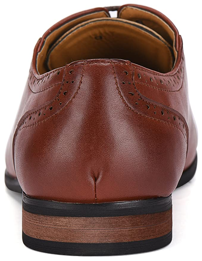 168c700278a8 Amazon.com: Gallery Seven Mens Oxford Dress Shoes: Clothing