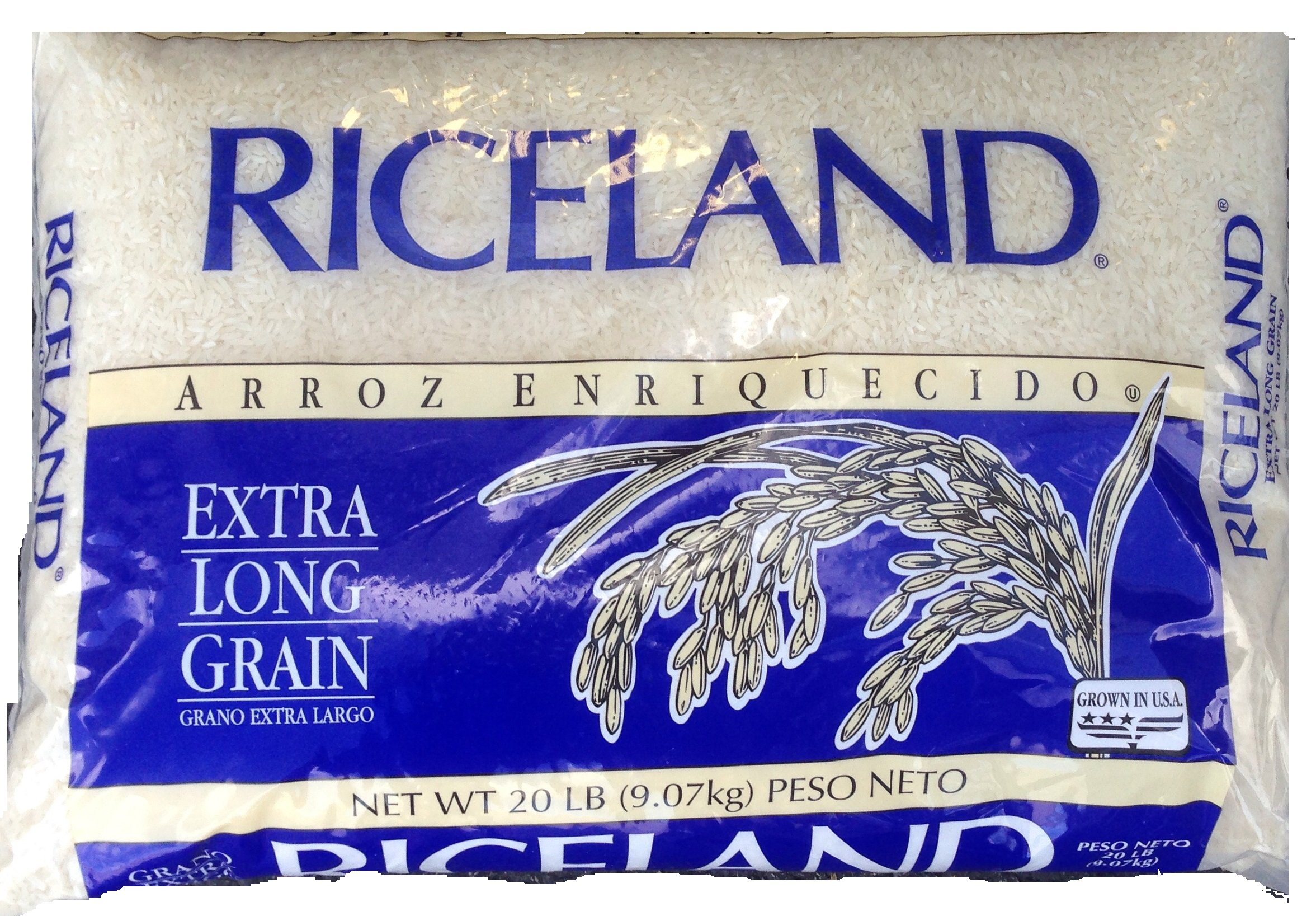 Riceland Foods Extra Long Grain White Rice, 20 lb