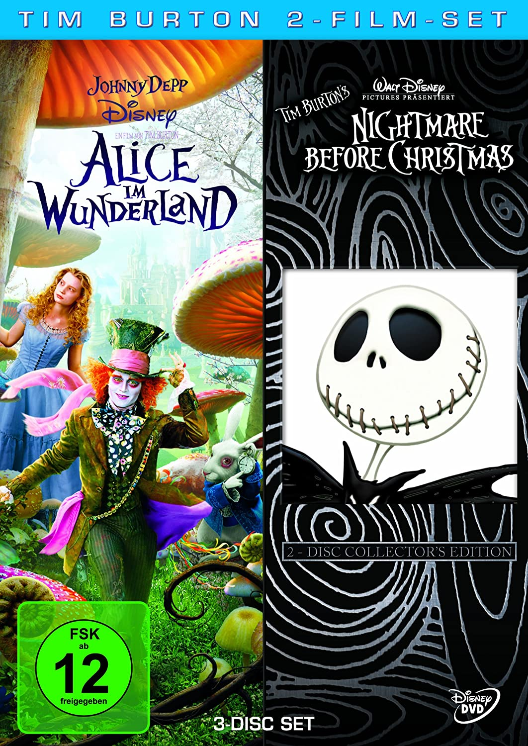 Tim Burton 2-Film-Set [Alemania] [DVD]: Amazon.es: Mia Wasikowska ...
